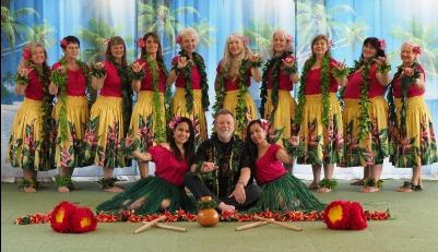 Geschichte von Hawaii mit Hula-Tanzvorführung