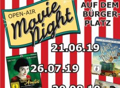 Flyer Kino Open Air Bild klein